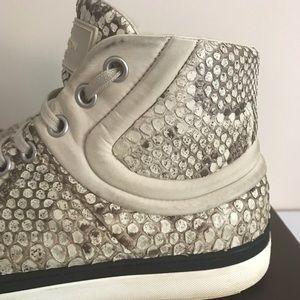 bd5f116ce2c Louis Vuitton Python High Top Sneakers
